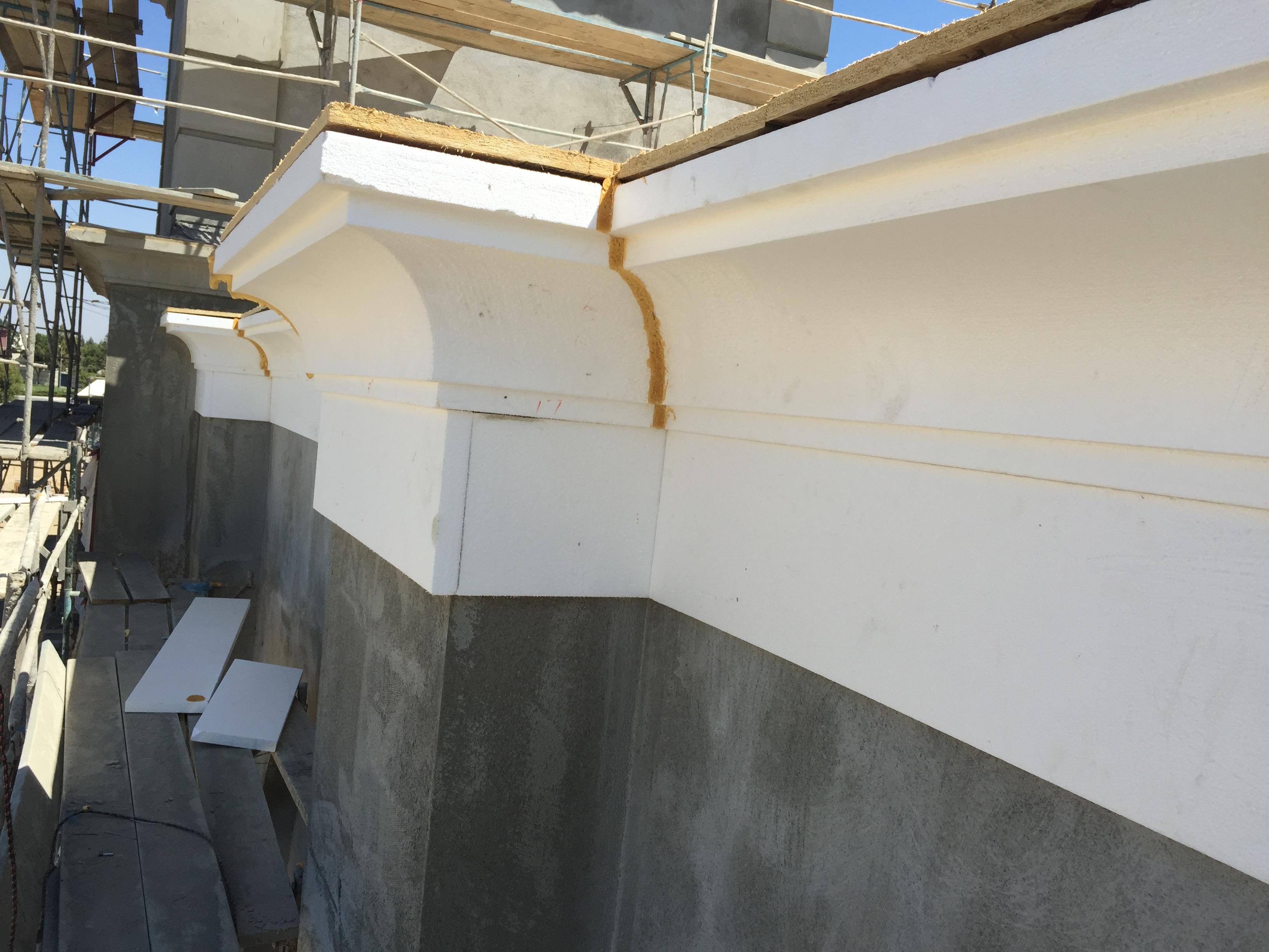 Foam Shapes West Coast Drywall Construction Inc