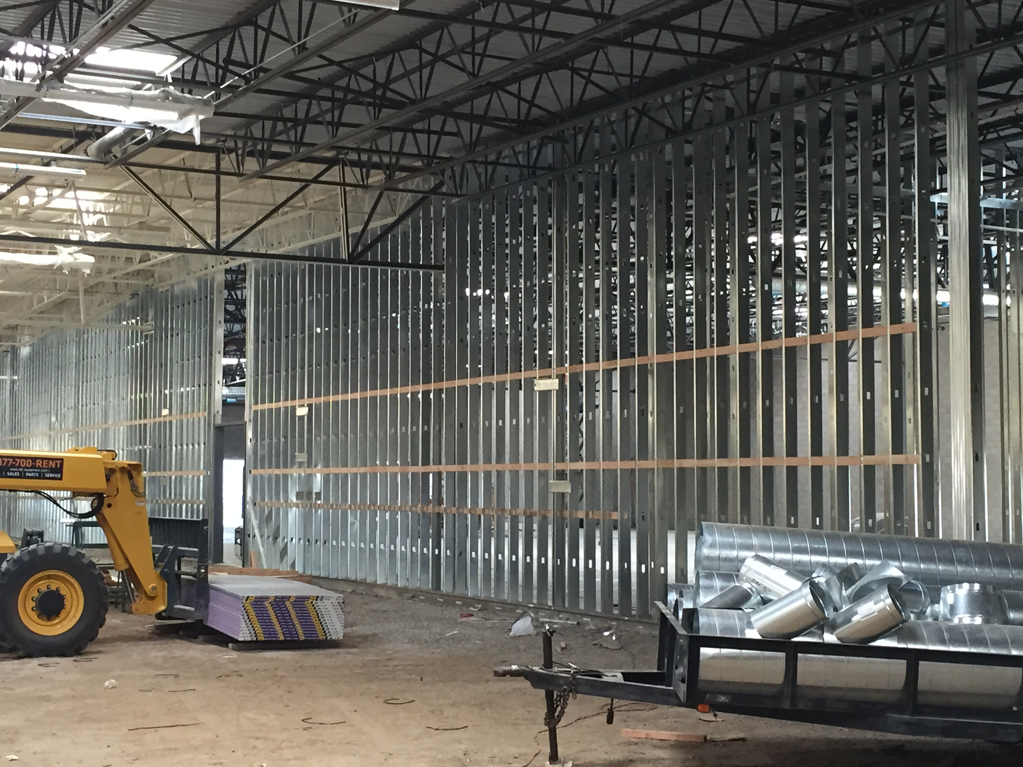 Walmart #5859-Wasco, Ca. | West Coast Drywall Construction ...