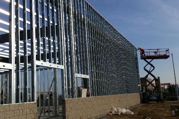 Exterior Metal Stud Framing West Coast Drywall Construction Inc